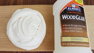 DIY Wood Slime! Make Slime with NO Activator (Borax, Liquid Starch, Detergent, etc)