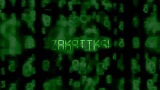 видео логотип матрикс