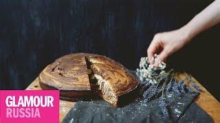 Кекс «Зебра» на десерт