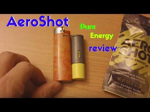 AeroShot Pure Energy review
