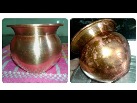 how to clean copper vessels simple trick to clean bronze copper how to clean copper utensils. Black Bedroom Furniture Sets. Home Design Ideas