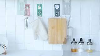 애니멀프렌즈 멀티걸이 벽걸이후크 벽옷걸이 욕실 소품 걸…