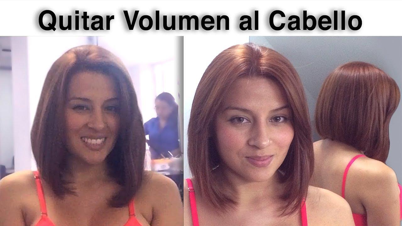Corte pelo para sacar volumen