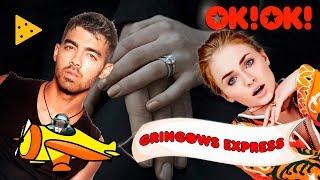 """Joe Jonas e Sophie Turner noivos! Estreia da """"Gringows Express"""""""