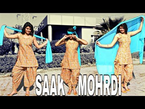 Saak Morhdi   Sarika Gill   Punjabi Girl Bhangra   Dimple   Punjabi Song 2019   Choreo by Piyush Sm