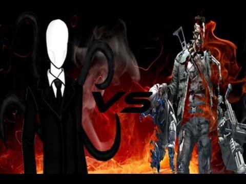 terminator vs slenderman loquendo 2014 youtube