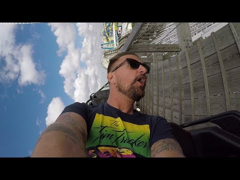 Having The Best Day Ever At Fun Spot America | Roller Coaster POVs, Fast Go Karts & A Big Swing!