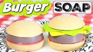 DIY Hamburger Soap - Easy Soap Making How-To - Melt & Pour - Burgers & Cheeseburger