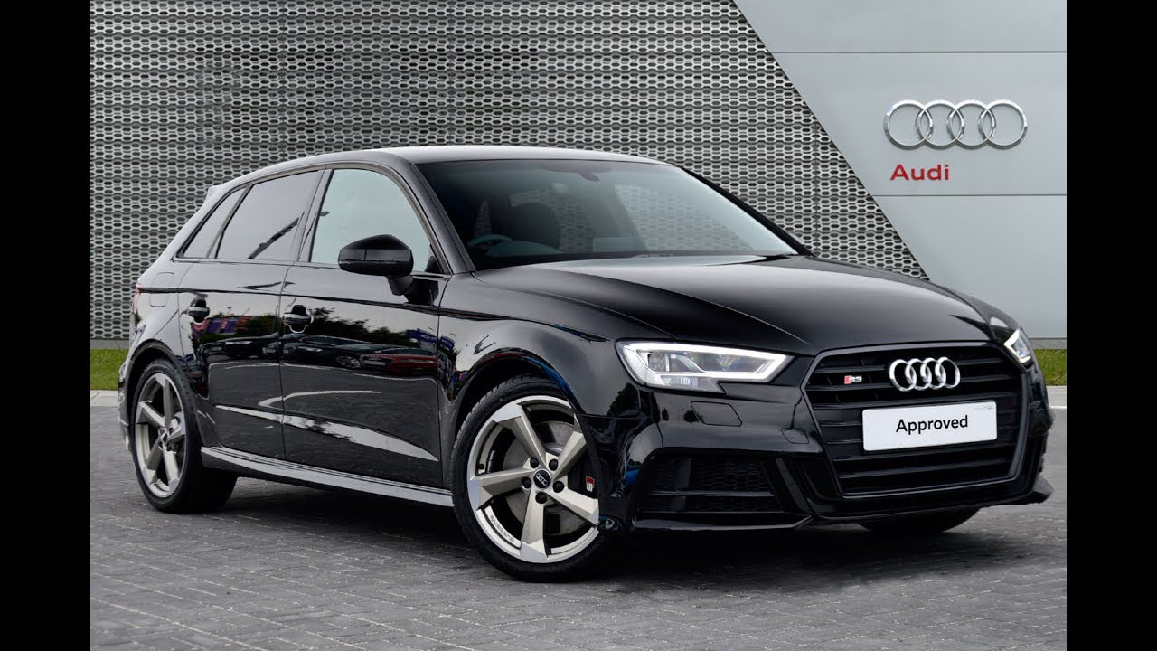 audi a3 s3 sportback tfsi quattro black edition youtube. Black Bedroom Furniture Sets. Home Design Ideas