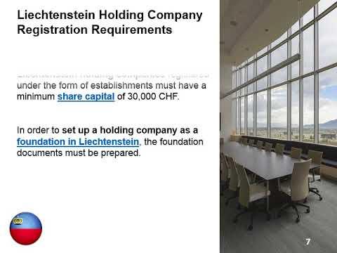 Holding Company in Liechtenstein