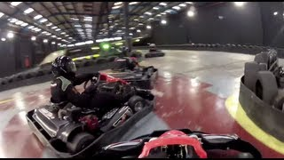 200cc Indoor Karting | #1 (2 Session Edit) | Teamsport Brighton | GoPro HD Hero 2