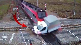 Top Dangerous Truck & Train Fails 2021 #shorts