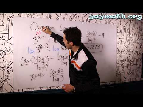 Algebra 2 – Common Logarithms (as in, base 10)
