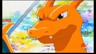Pokemon-Ash vs Gary - Charizard vs Blastoise