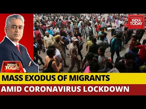 Covid-19 Lockdown: Hungry, Helpless Migrant Workers Flee Cities | News Today With Rajdeep