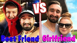 Who Knows Me Better? - Girlfriend Vs. Best Friend Challenge | Jerome