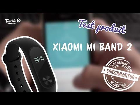 dfeeddf6c911a Test produit - Montre connectée - Xiaomi mi band 2 - YouTube