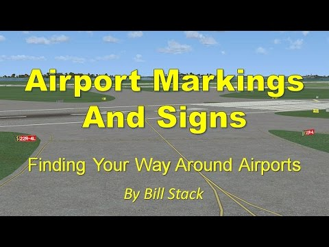 Airport Marking and Signs by TopSkills - YouTube
