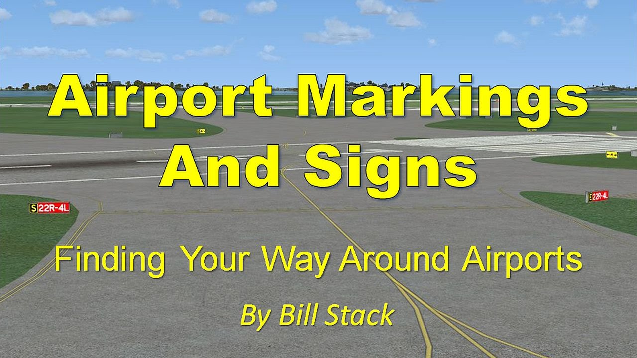 Airport Marking and Signs by TopSkills