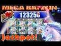 ★ MEGA BIG WIN - Jackpot!!! Mystical Unicorn Slot Machine ♠ SlotTraveler ♠