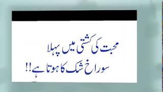 Best beautiful quote's in Urdu/golden words anmol moti/khoobsurat batain in Urdu
