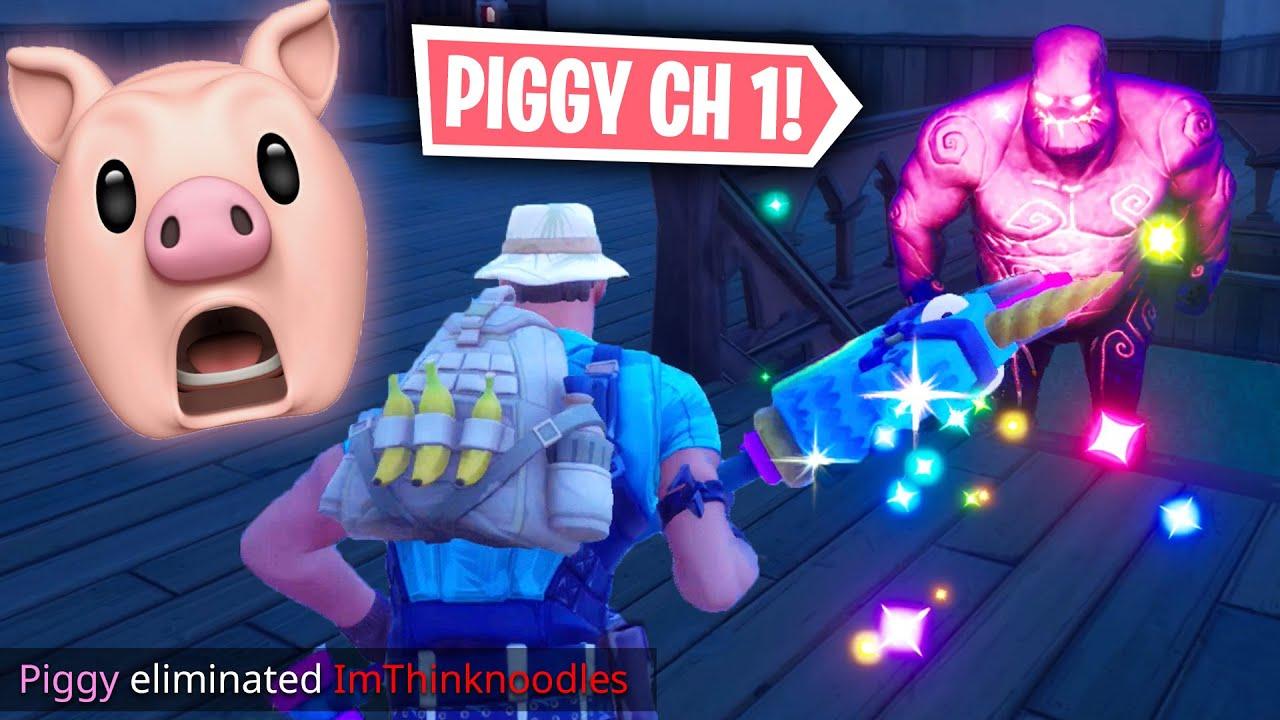 Someone Made Roblox Piggy In Fortnite Youtube