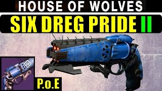 Destiny Six Dreg Pride II Review! | Prison of Elders Elemental Hand Cannon!