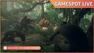 GameSpot Live - Ancestors: The Human Odyssey