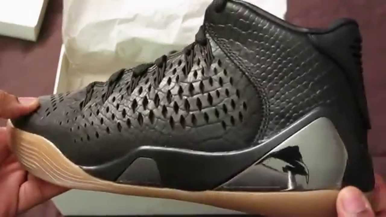 d0fa8678bd3 Nike Kobe 9 IX Mid EXT - YouTube
