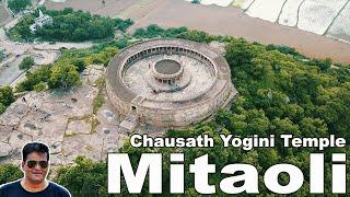 Tourist places near Gwalior ||The Chausath Yogini Temple , Mitaoli || मितावली|| Morena
