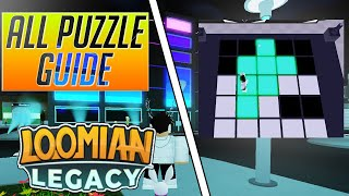 HOW TO COMPLETE ALL THE SILVENT CITY GYM PUZZLES | LOOMIAN LEGACY | ROBLOX