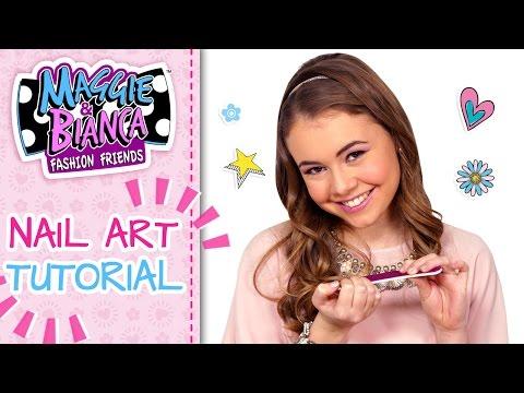 Maggie & Bianca Fashion Friends | Nail Art (Tutorial magazine #1)