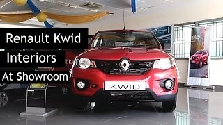 Renault Kwid | Interiors & Exteriors At Showroom | 2015 | India