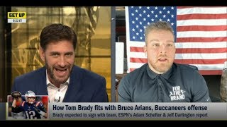 GET UP | How Tom Brady fits with Bruce Arians, Buccaneers offense
