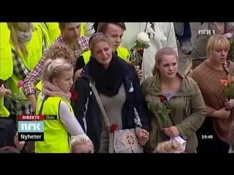 [HELE SANGEN] Rosetoget i Oslo, 25. juli 2011 - Maria Solheim - Mitt lille land