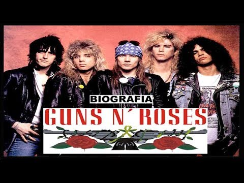 GUNS N' ROSES - Biografia - Welcome To The Jungle