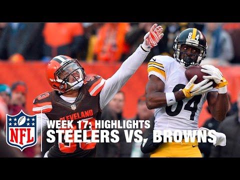 Steelers vs. Browns | Week 17 Highlights | NFL