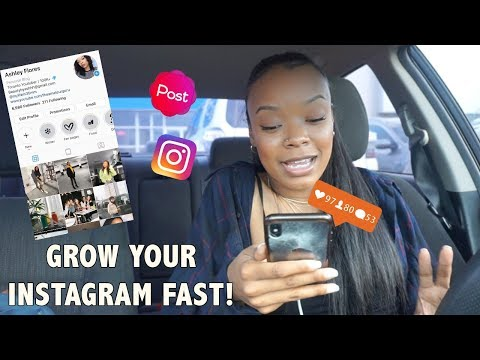 How I Grow my Instagram Followers FAST | Instagram Tips, Tricks!