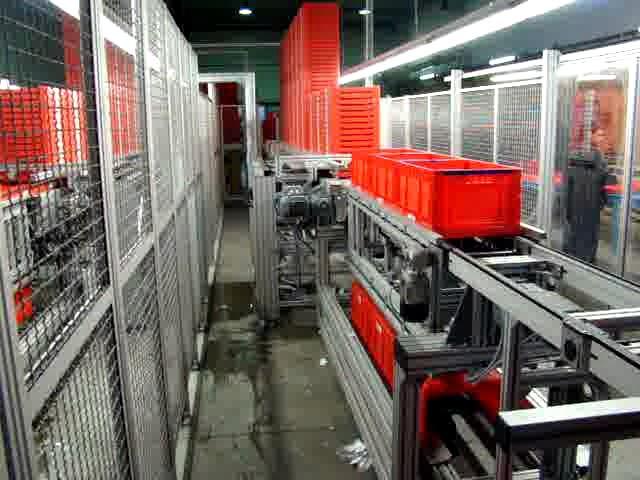 PTS Automation Klappkistenentstapler / -stapler