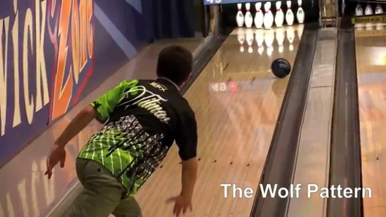 Wolf Pattern Bowling Unique Inspiration Design