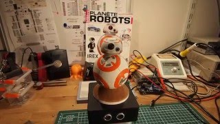 Force sensitive 3D printed BB-8