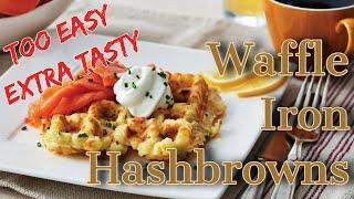 Recipe Waffle Hashbrowns