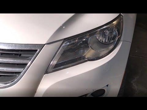 Volkswagen Tiguan Headlight Bulb Replacement Vw Youtube