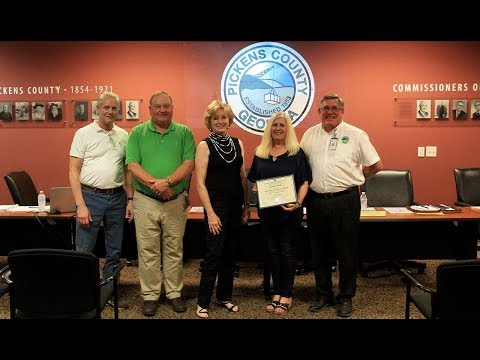 Pickens County Board of Commissioners September 2018