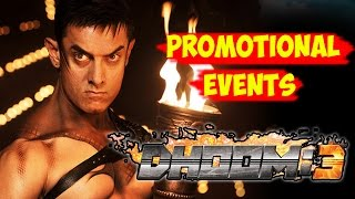 Dhoom 3 Movie FULL PROMOTIONAL Events | Aamir Khan, Katrina Kaif
