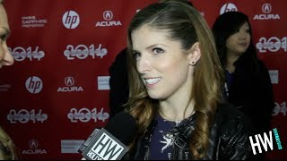 Anna Kendrick Talks