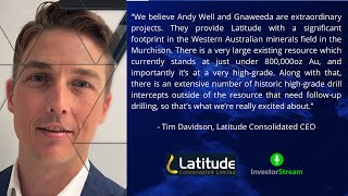 Investor Stream chats with: Latitude Consolidated CEO Tim Davidson (February 15, 2021)