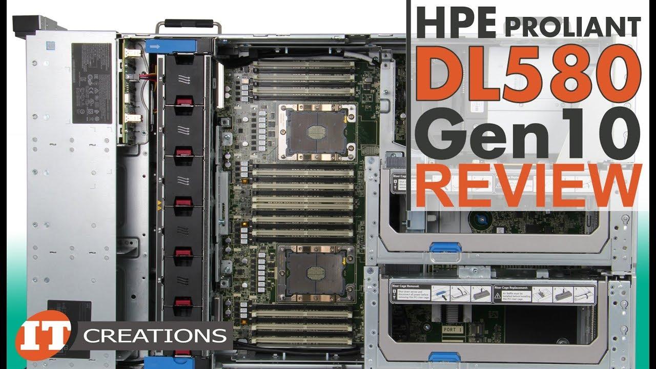 HPE ProLiant DL580 Gen10 Server REVIEW | IT Creations