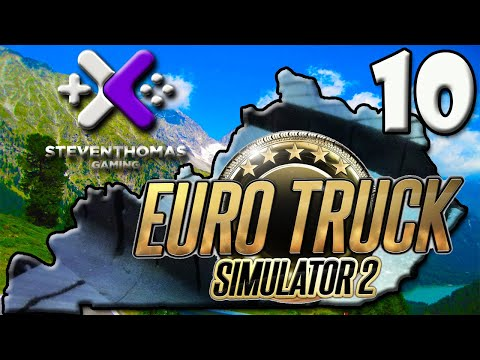 SKS Plays Euro Truck Simulator 2 Gameplay:  Drivers, Garages, and Real Life Tickets [Episode 10]