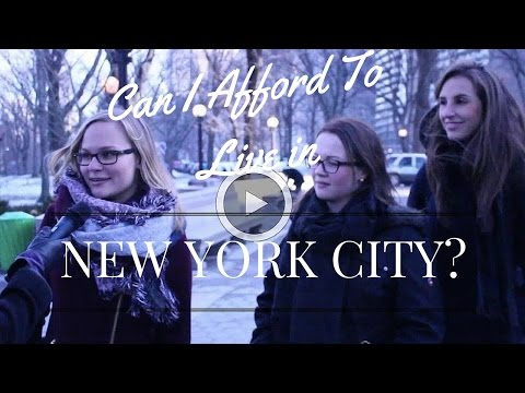 Can I Afford to Live in New York City?
